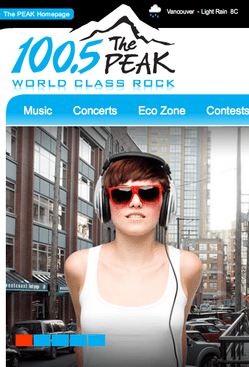 Hell hath frozen over: Vancouver gets a decent modern music station