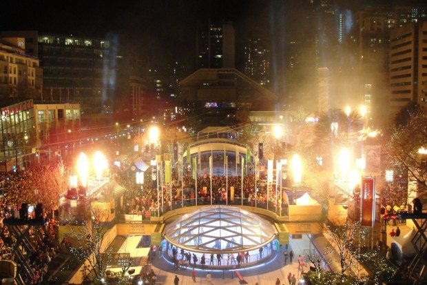 Re-think Robson Square, but without closing it permanently