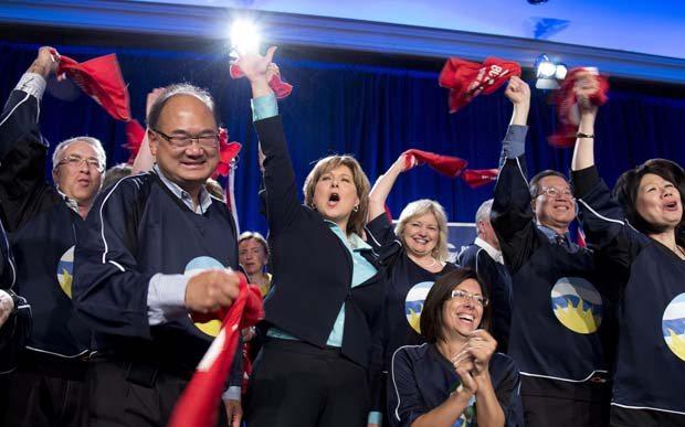 BC Liberals 2012 Convention -- photo: Jonathan Hayward , CP