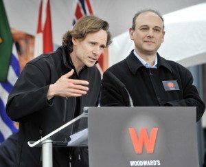 Ian Gillespie (left) – photo: Vancouver Sun