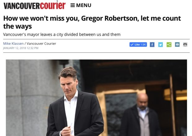 Your thoughts about my Gregor Roberson column